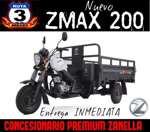 tricargo zanella zmax 200 w aguatero utilitario 0km 2019