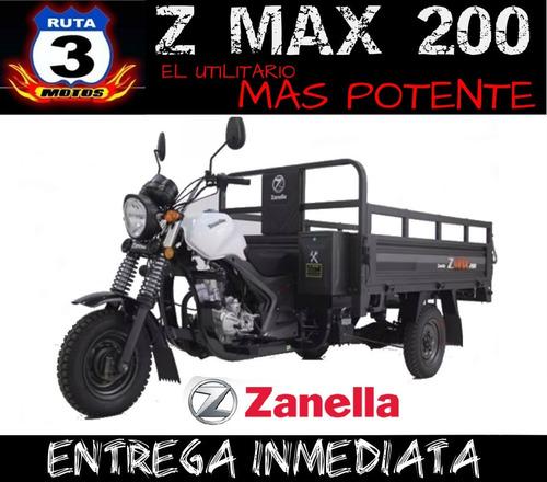 tricargo zanella zmax 200 w refrig agua utilitario 0km 2019