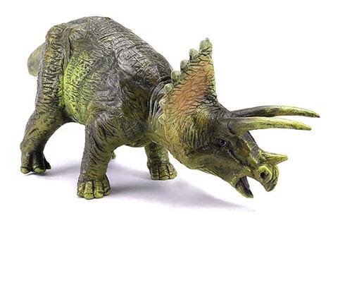 triceraptos mediano dinosaurio 41cm dinomania jurassic word