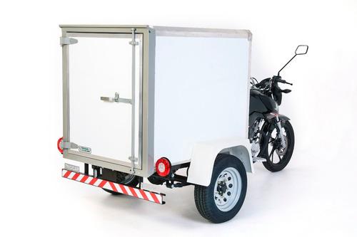 tricicar triciclo de carga furgão alumínio 160cc 2020