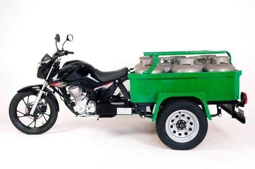 tricicar triciclo de carga gás standard para 8 botijões p13