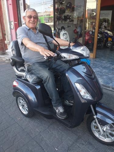 tricicl eléctri sunra shino batería gel silla rueda golf