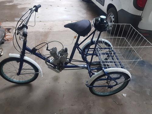 tricicleta de reparto con motor 80cc nuevo/2017