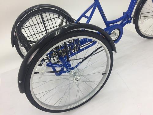 tricicleta plegable kent aluminio r-26 1 velocidad alameda
