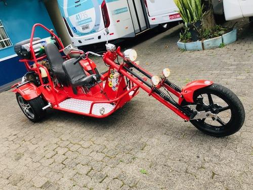 triciclo 2014 3 lugares motor ap 1.8