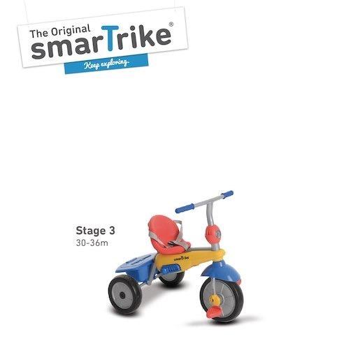 triciclo 3 en 1 smart trike multi color/meloni tutito