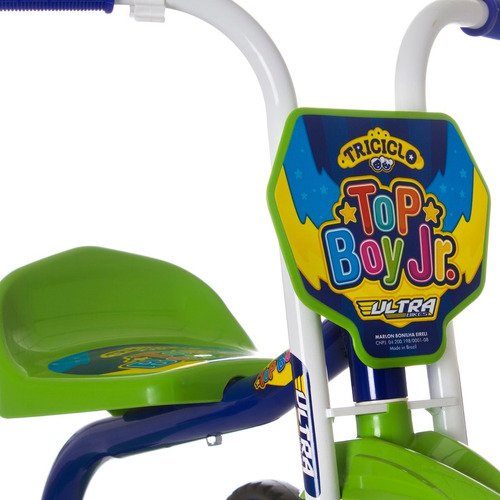 triciclo 3 rodas velotrol motoca menino top boy barato ultra