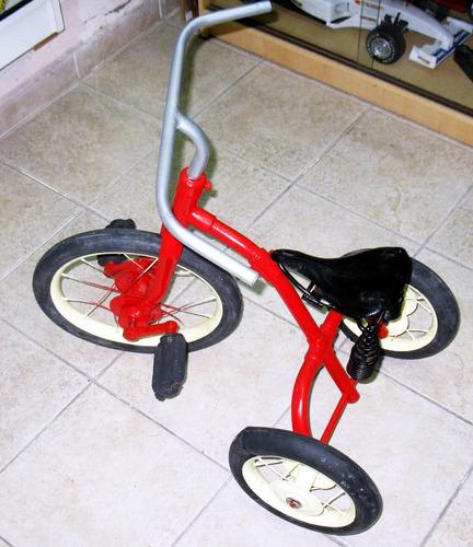 triciclo a pedal antiguo - decada del 30/40 ind arg