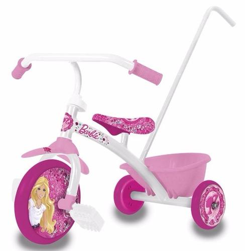 triciclo a pedal super reforzado minnie pepa disney metalico