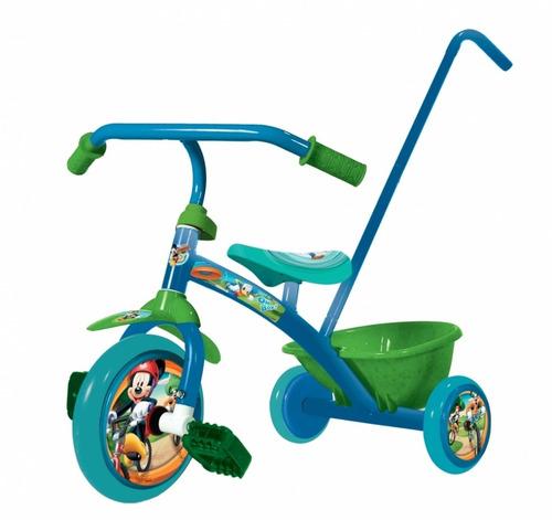 triciclo a pedal super reforzado solido disney metalico