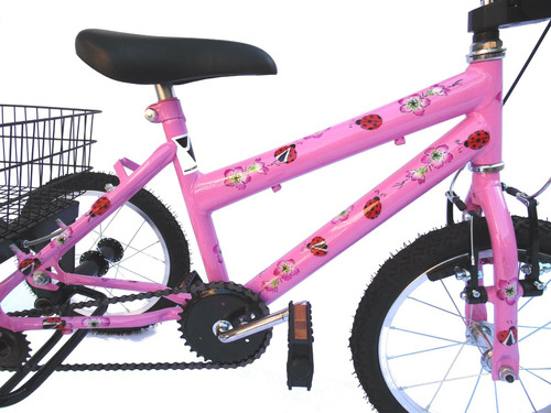 triciclo aro 16 joaninha