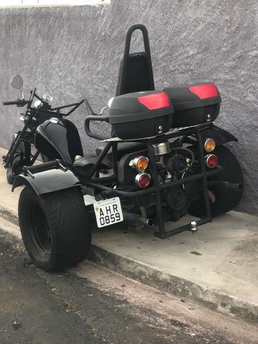 triciclo artesanal vw 1500 artesanal