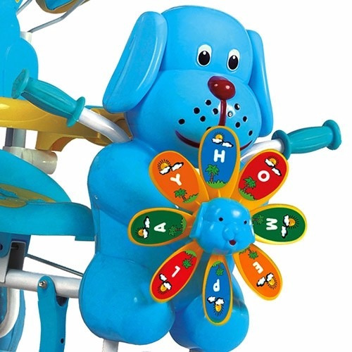 triciclo azul catavento - homeplay