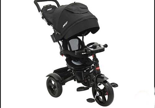 triciclo bebesit neo 360  morado , rosado , negro y azul