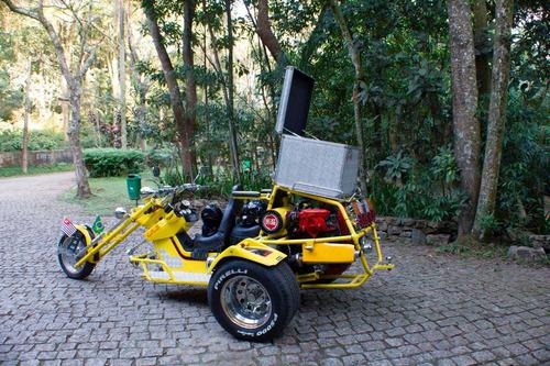 triciclo by cristo 2007 motor ap 1600 original de fabrica