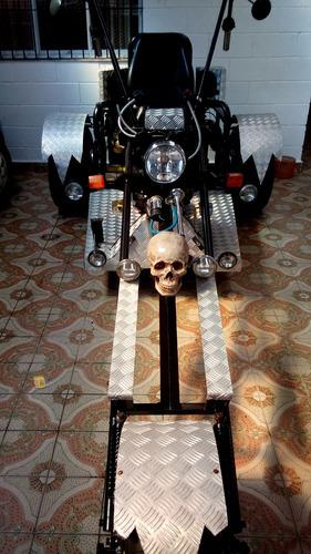 triciclo bycristo star1, motor volkswagen ap 1.6 cambio sp2
