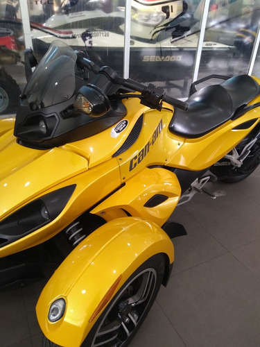 triciclo can am, modelo spyder rs tiptronic, ano 2009