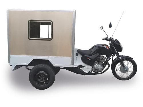 triciclo carga baú pet shop 160cc 0km 2019 2019 300kg