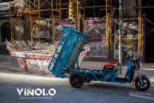 triciclo cargo eléctrico  - viñolo vehículos eléctricos/e