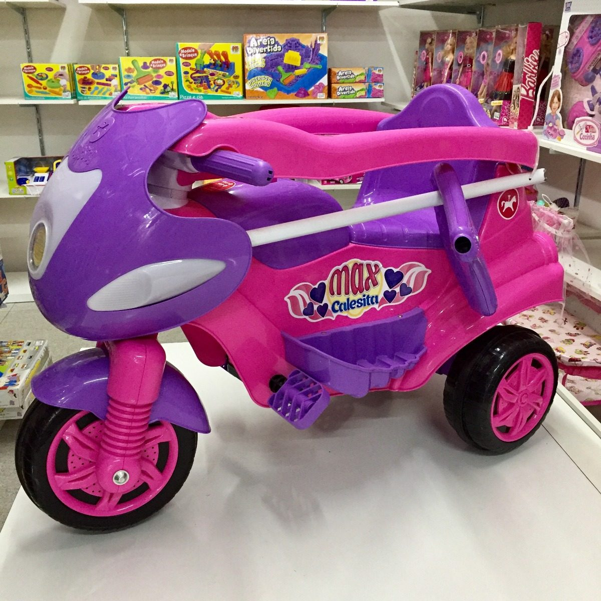 82f4a832e9 triciclo carrinho passeio max calesita menina frete grátis. Carregando zoom.