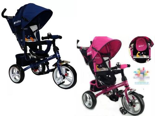 triciclo coche bicicleta 3 en 1 regalo niño niña oferta