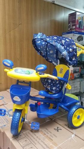 triciclo con capota oferta imperdible para los mas chicos