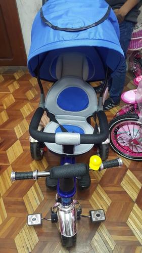 triciclo con suspencion