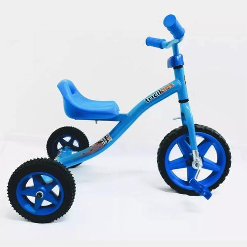 triciclo de caño tricikids nene nena pedal rueda goma