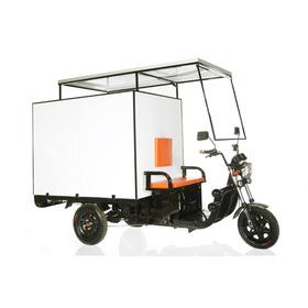 Triciclo De Carga Elétrico  Solar