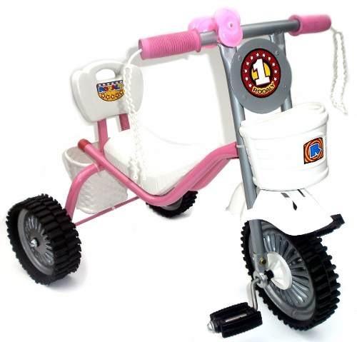 triciclo de metal reforzado con ruedas de goma !!!!!!!