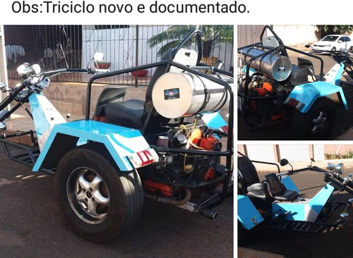 triciclo documentado mono protótipo custon