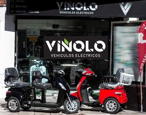 triciclo eléctrico 5 años de garantía  - viñolo /e