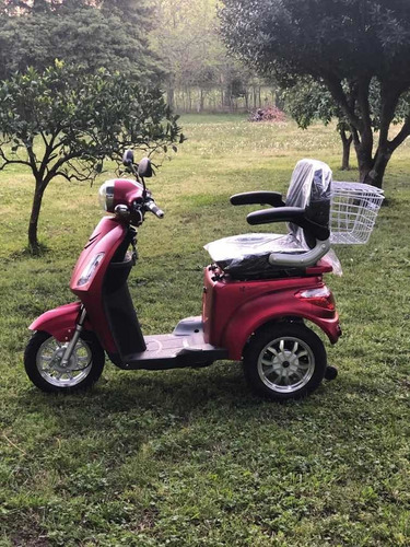 triciclo electrico 800w ultima generacion sistem antivuelco