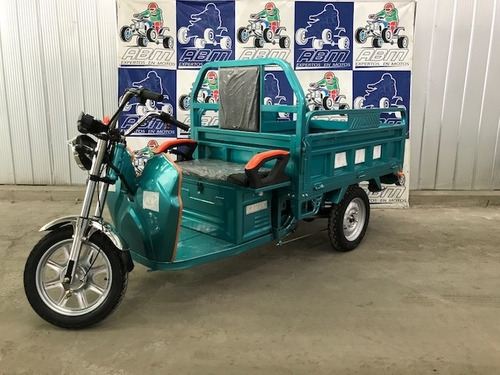 triciclo electrico con pick up soporta 400 kilos