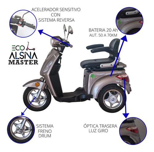 triciclo electrico elpra master nuevo 0km