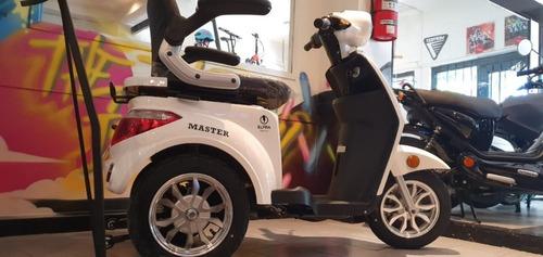 triciclo eléctrico master / bateria 20 ah envío sin cargo