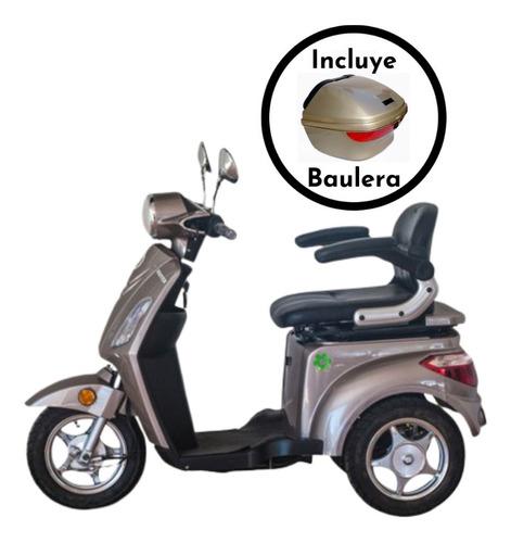 triciclo eléctrico master / con envío y baulera