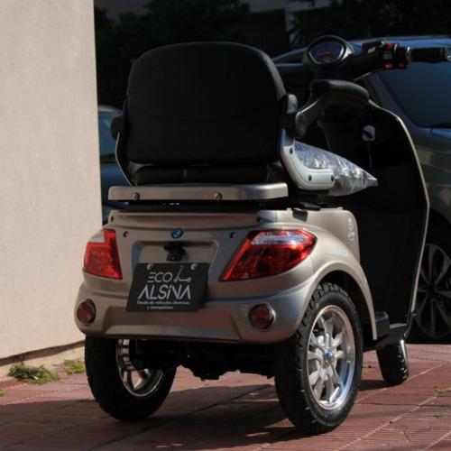 triciclo eléctrico master / discapacitados eco alsina