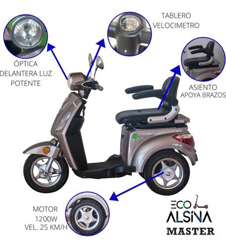 triciclo electrico master elpra / con reversa / eco alsina