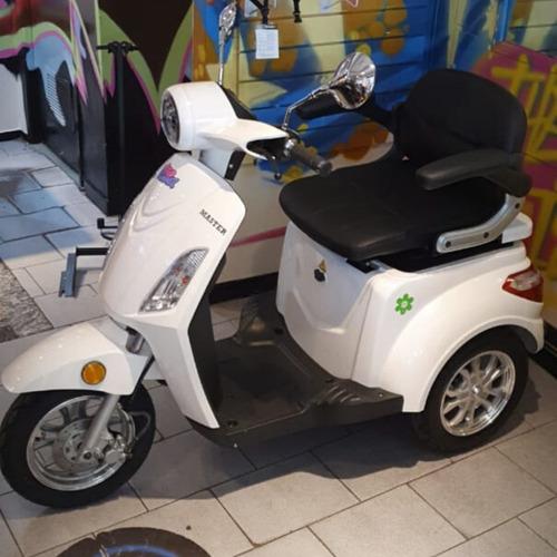 triciclo eléctrico master / golf - discapacitados eco alsina