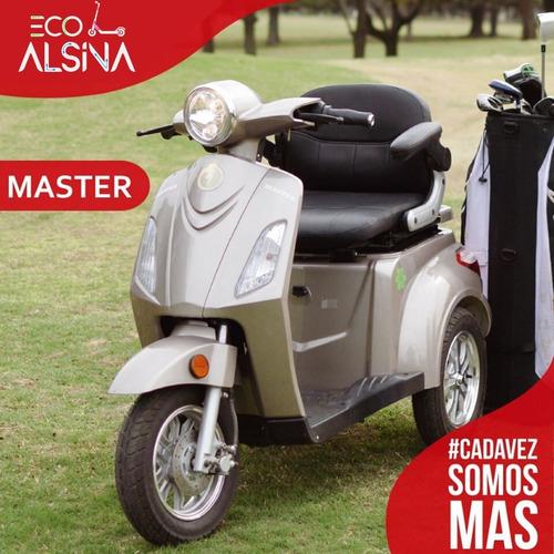 triciclo eléctrico master / soporte golf - envío gratis