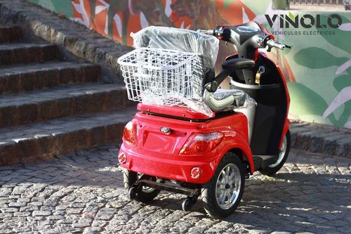 triciclo eléctrico para discapacitado gente mayor viñolo /a