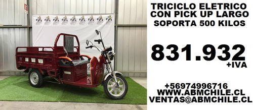 triciclo electrico pick up oferta 831.932+iva