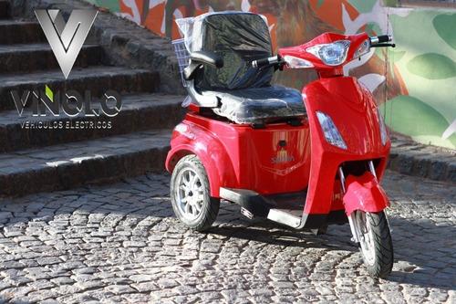 triciclo eléctrico, plan gob 16% - viñolo vehículos /e