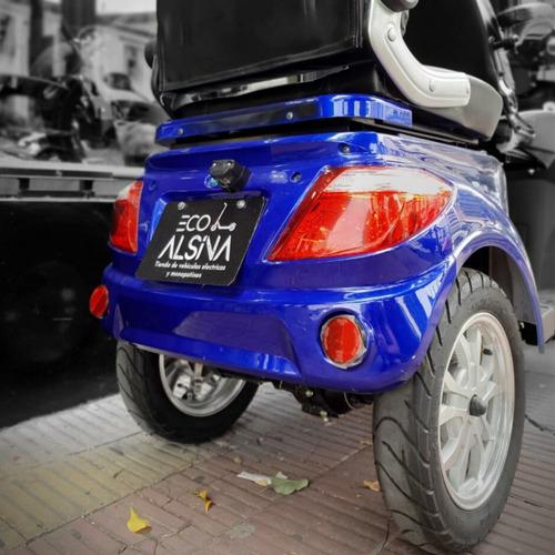 triciclo electrico shinox bateria 20 ah 1500w