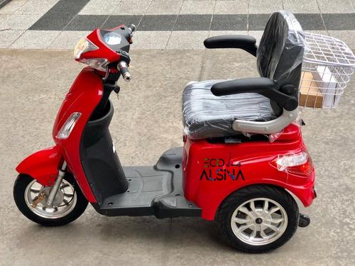 triciclo eléctrico sunra / sin licencia conducir /eco alsina