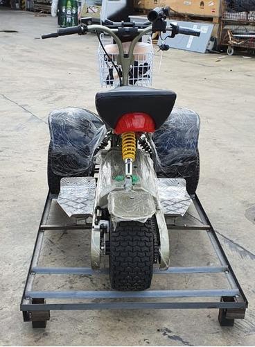triciclo eléctrico tri  golf gran autonomia