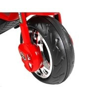 triciclo eletrica infantil 12v bandeirantes gt02 vermelha