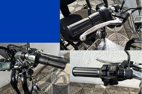 triciclo elétrico advanced 1000 w 48 volts 12ah c/ seta e ré