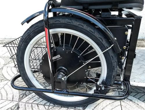 triciclo elétrico advanced 2000 watts 48 volts dois lugares